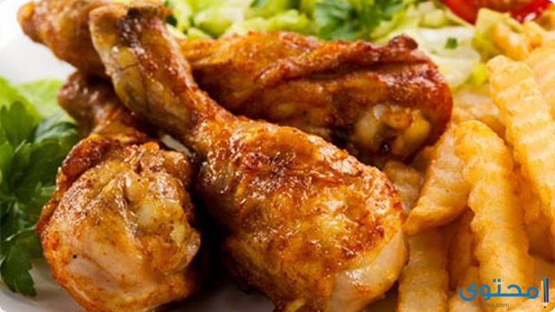 الدجاج المشوي بالفرن