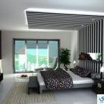 صور ديكور اسقف غرف النوم