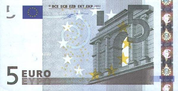 5 يورو