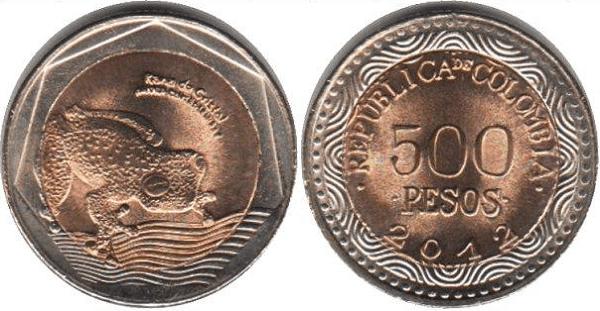 500 بيزو كولومبي