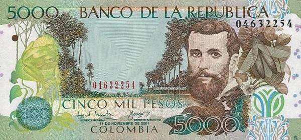 5000 بيزو كولومبي