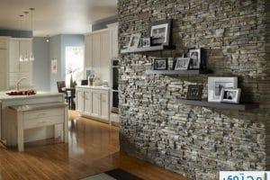 ديكورات الجدران الحجرية