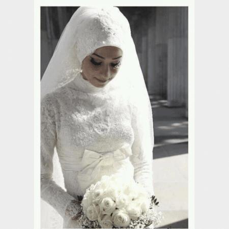 صور اجمل فساتين زفاف للمحجبات بتصميمات رائعة - موقع محتوى