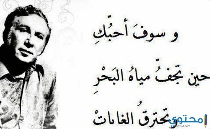 أجمل أشعار حب نزار قباني موقع محتوى