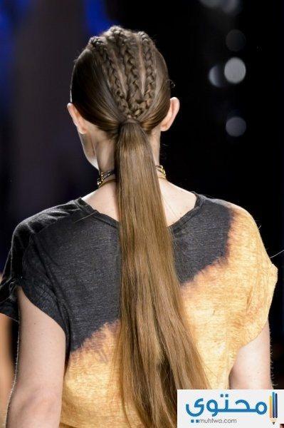 تسريحات الشعر طويل