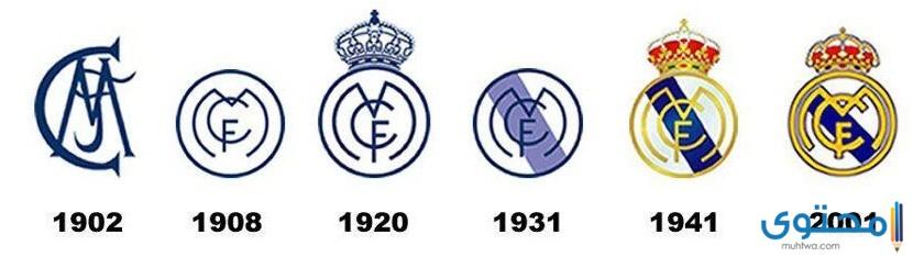 تطور شعار ريال مدريد