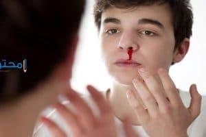 تفسير نزول دم من الأنف فى المنام
