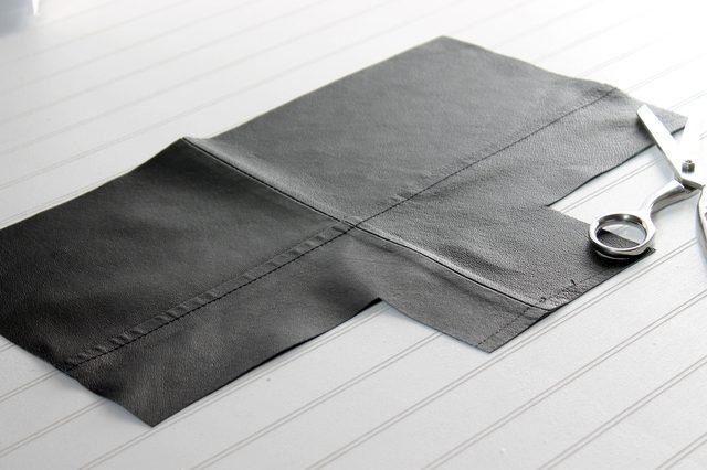 حول جاكتك الجلد القديم إلي حقيبه انيقه - موقع محتوى
