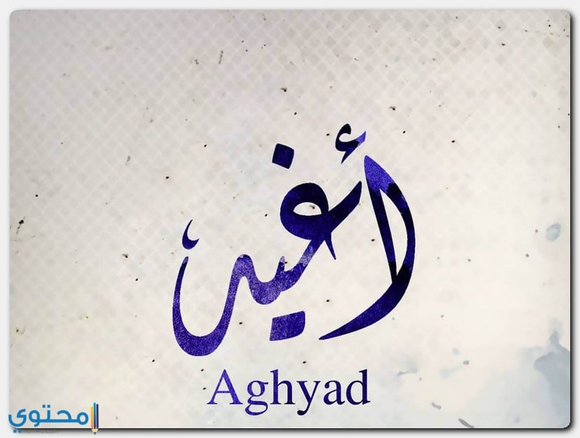 معنى اسم Aghyad