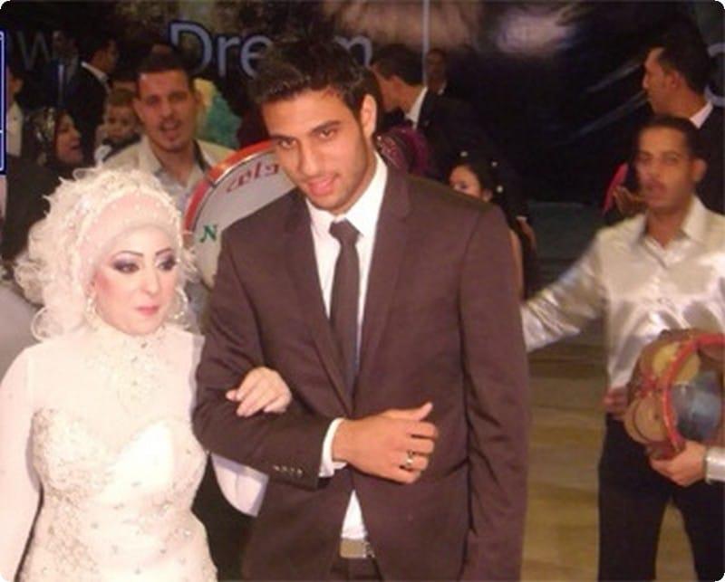 احمد الشناوي وزوجته