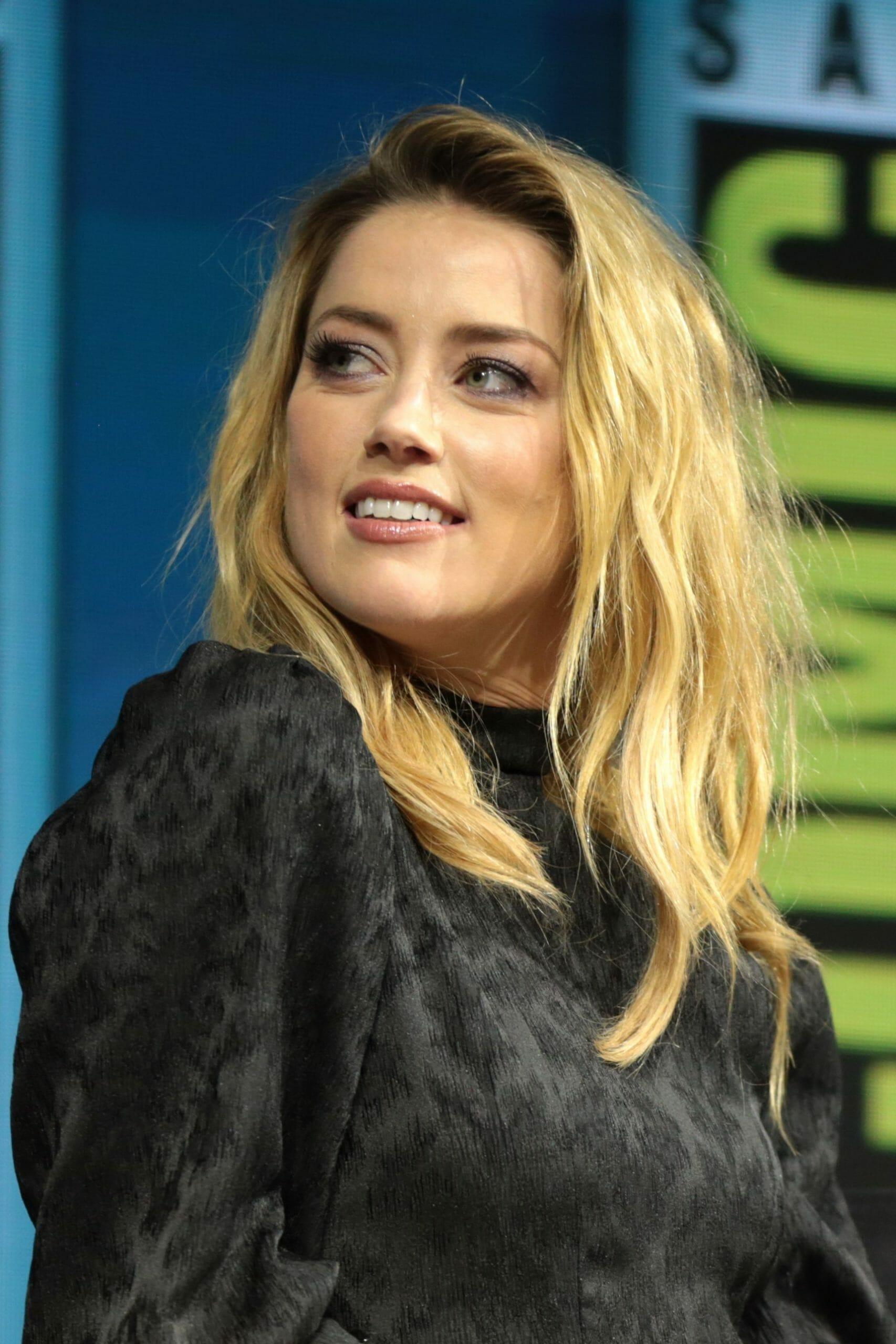 الممثلة أمبر هيرد