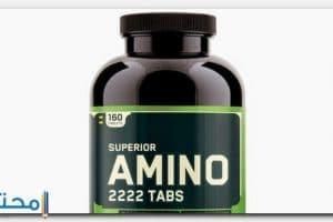 فوائد برشام امينو 2222 لزيادة العضلات