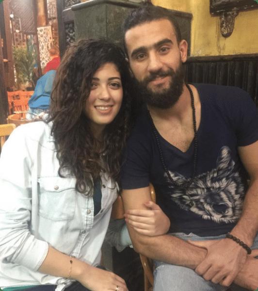 صور باسم مرسي وزوجته