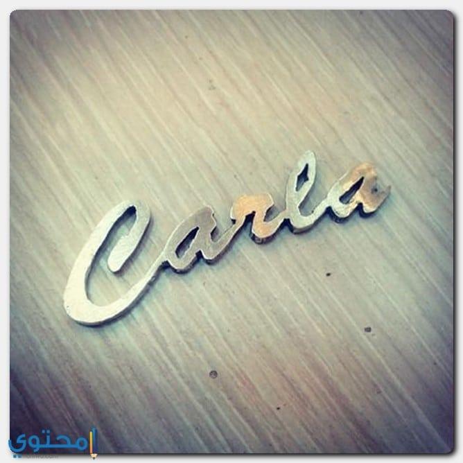 الاصل من تسمية كارلا