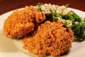 طريقة عمل دجاج بالكورن فليكس
