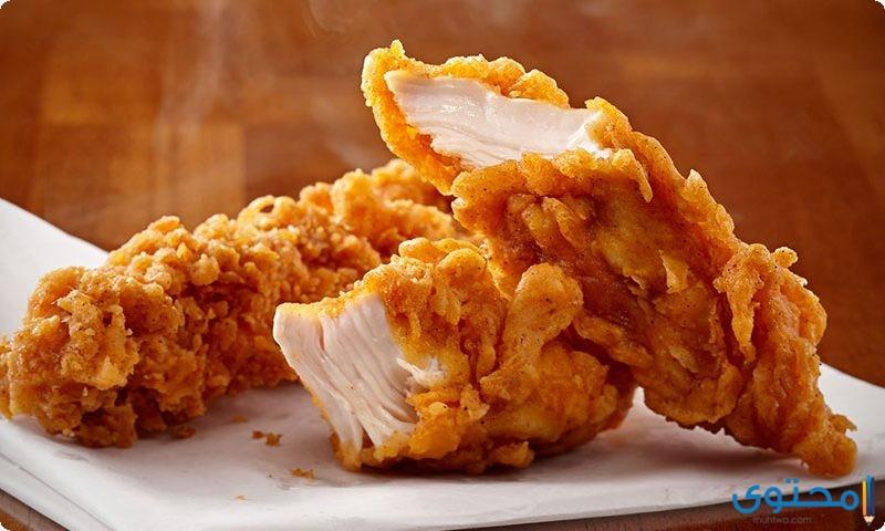 زنجر الدجاج المقرمش