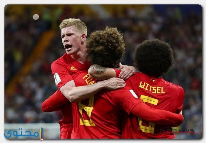 صعود بلجيكا للدور النصف النهائي