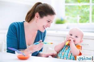تغذية الطفل في الشهر الحادي عشر