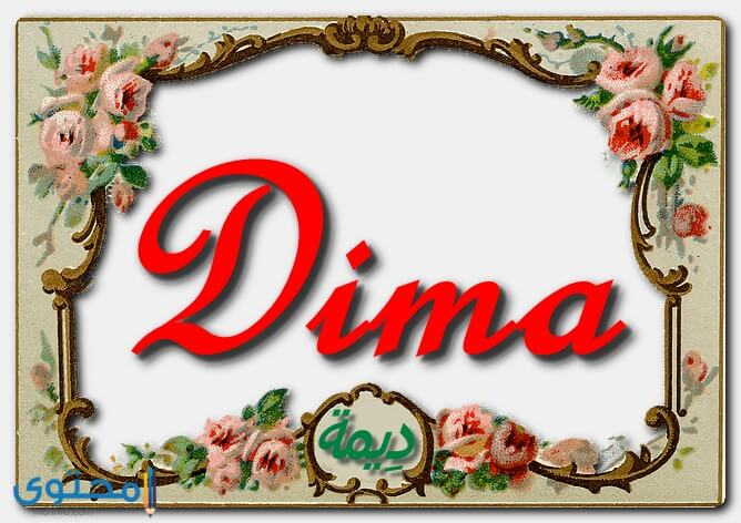 هل اسم ديمة مذكور في القرآن