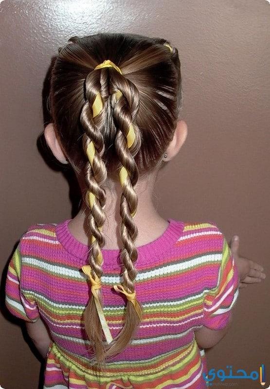 اجمل تسريحات الشعر للمدرسة