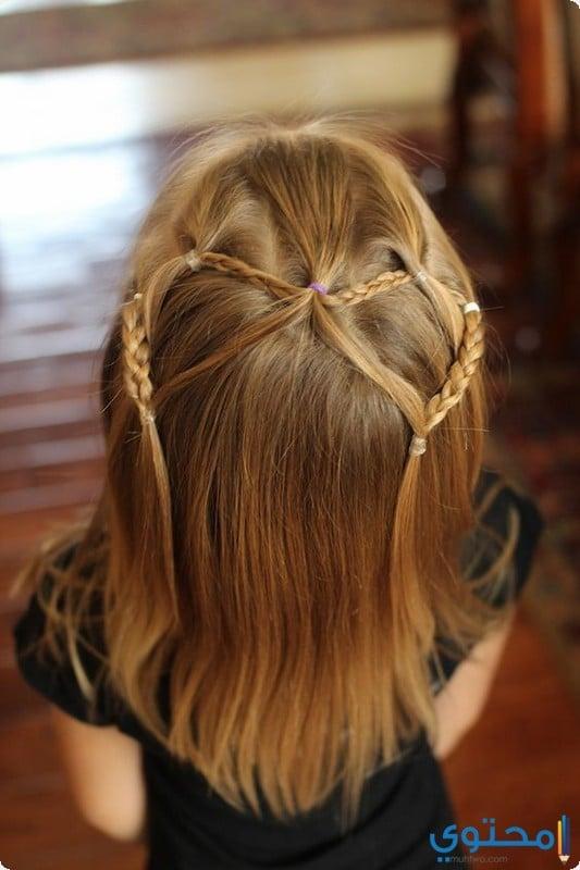 تسريحات شعر اطفال للعيد
