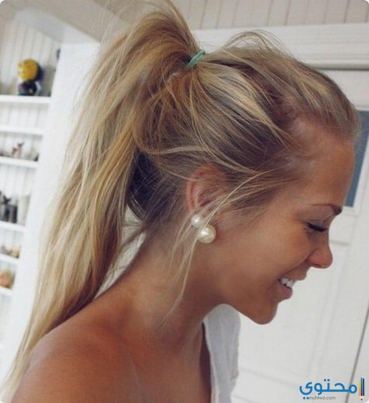 تسريحات شعر خفيف