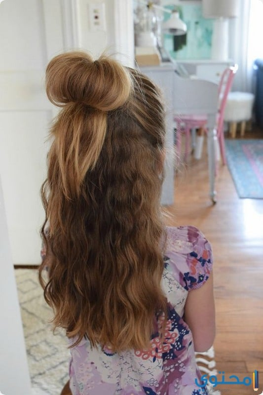 تسريحات شعر بنات اطفال