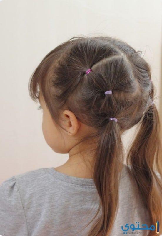 تسريحات شعر بنات أطفال