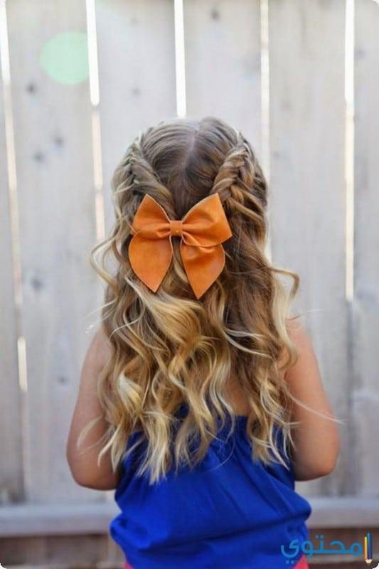 تسريحات شعر للبنات اطفال