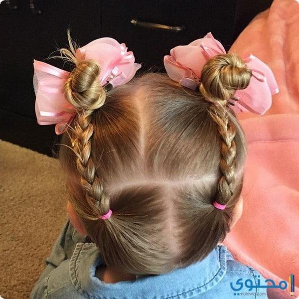 تسريحات شعر اطفال بنات