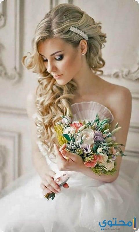 احدث تسريحات شعر للعرائس