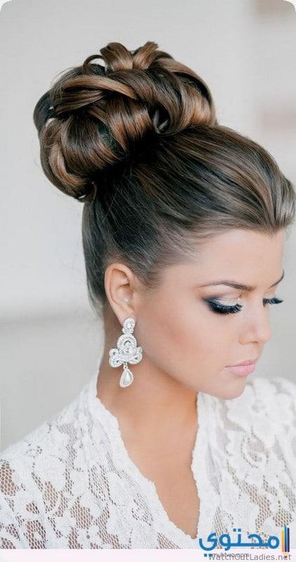 تسريحات شعر للعرائس