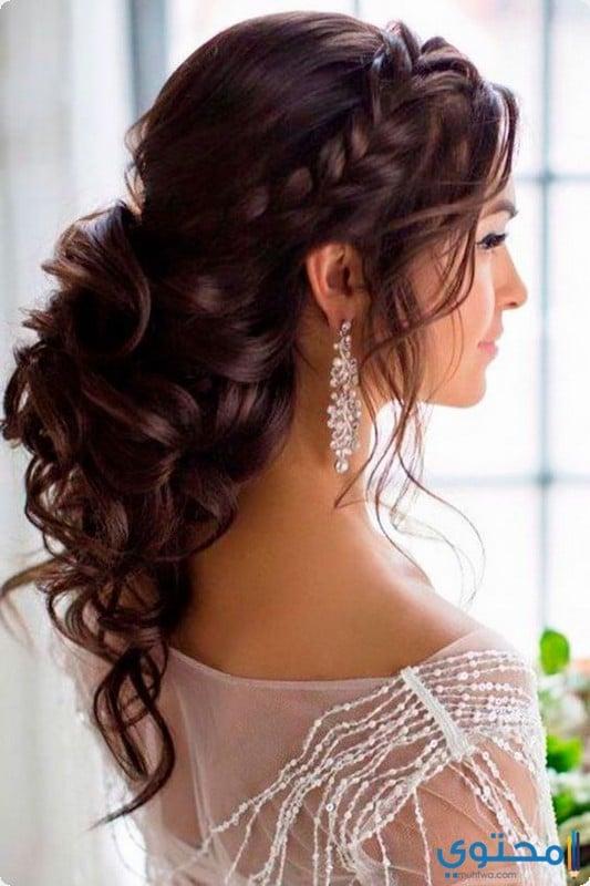 016f737d9 أحدث تسريحات شعر للعروس 2019 - موقع محتوى
