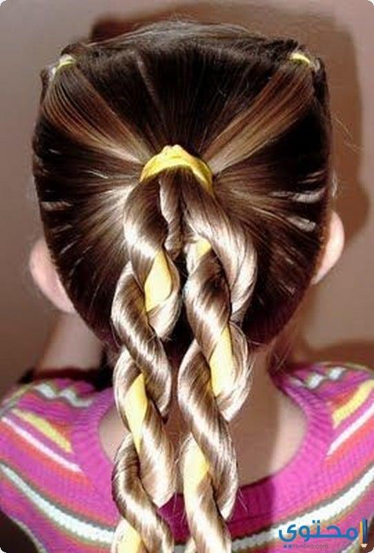 صور تسريحات شعر للأطفال البنات 1439 موقع محتوى
