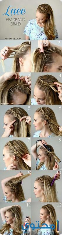 خطوات تسريحات شعر جديدة