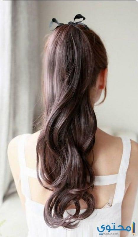 تسريحات شعر انيقة وبسيطة