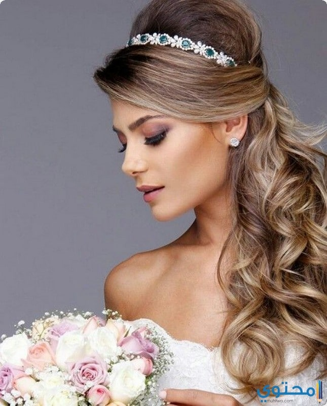 افخم تسريحات شعر للعرايس