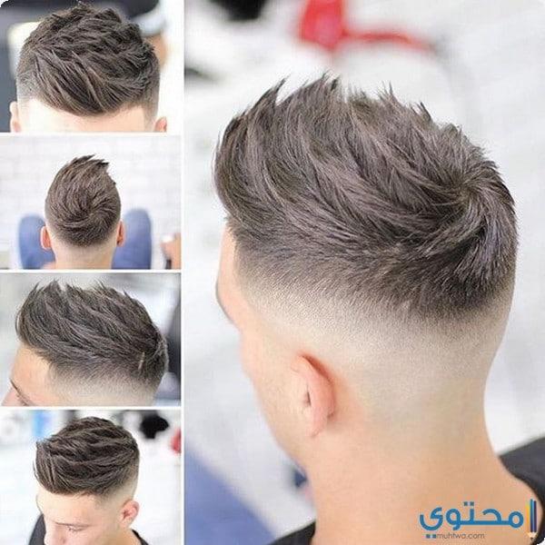 قصات شعر قصير مدرج للرجال