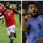 موعد مباراة مصر والاورجواي في كأس العالم 2018