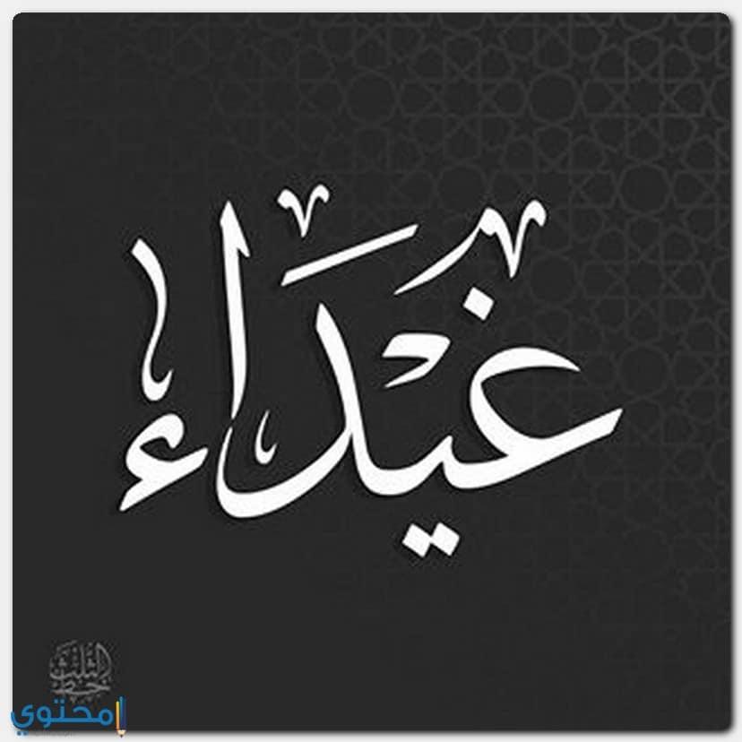 معنى اسم غيداء Ghaida بالتفصيل