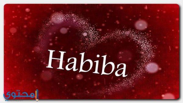 معنى اسم حبيبة وصفاتها وحكم التسمية Habiba موقع محتوى