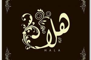 صفات ومعنى اسم هلا Hala