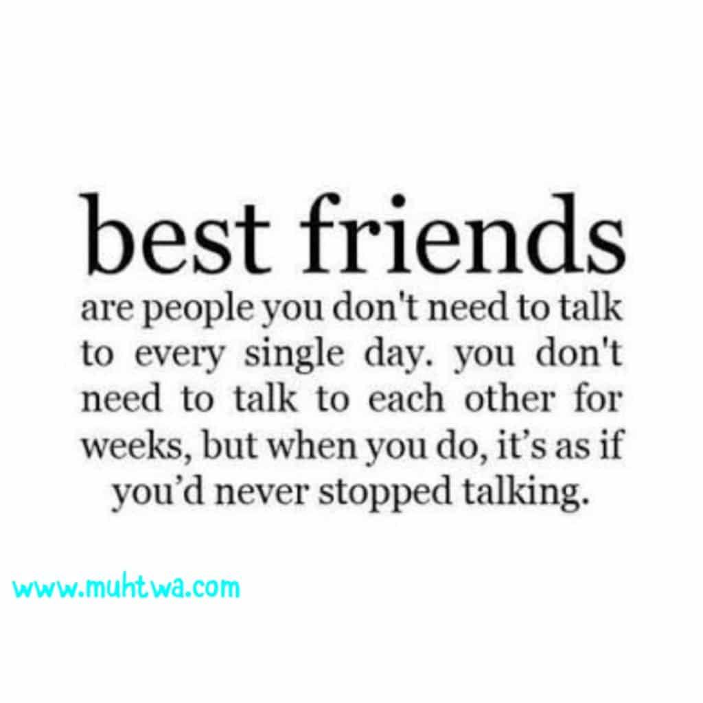 أمثال وعبر عن الصداقة