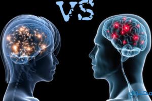 ما الفرق بين عاطفة المرأه وعاطفة الرجل