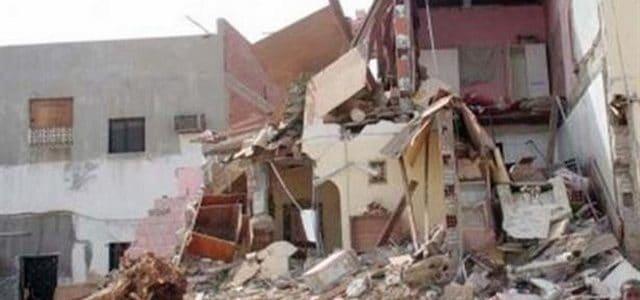 تفسير حلم انهيار البناء