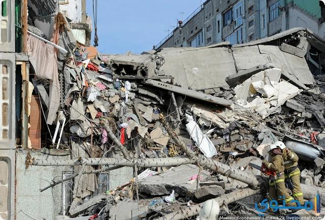 انهيار البناء