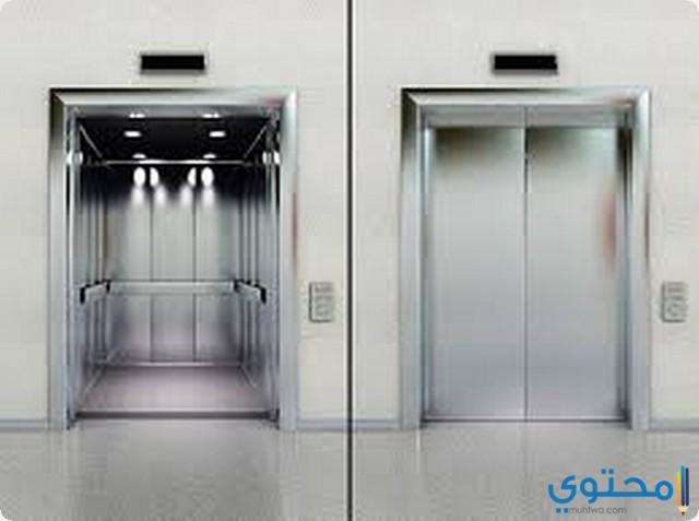المصعد في المنام