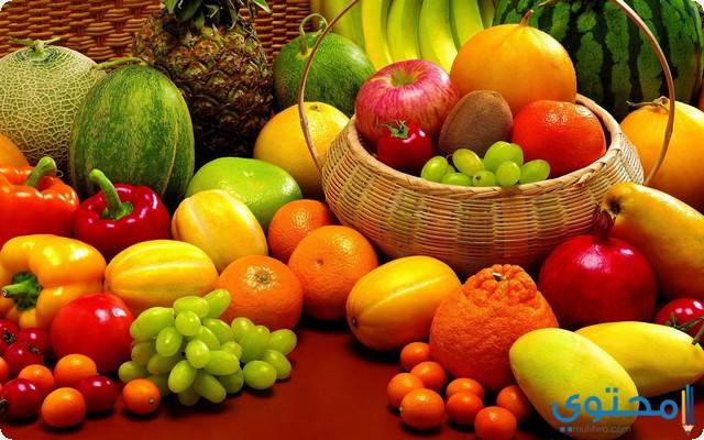 الفواكه في المنام