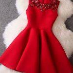 رؤية الفستان الأحمر في المنام