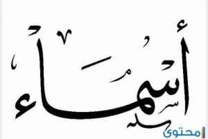 معني اسم أسماء في المنام